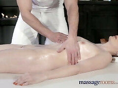 Rubdown Rooms Fabulous pale skinned Mom squirts for the very first time