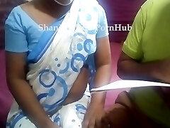 Sri lankan educator with her college girl having fuck-a-thon & filthy converses ක්ලාස් ආපු කොල්ලත් එක්ක ටීචර් ගත්තු සැප