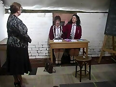spanking two Mature Students