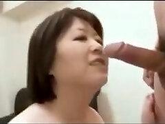 Asian Mature Facial