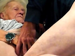 Amateur horny young platinum-blonde fingering pussy