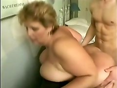 granny with big tits tears up young guy