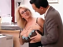 Big Breasted Mummy with her Boss...F70
