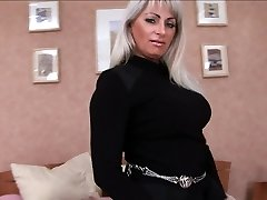 Mature pussy is poked in every crevice