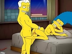 Animation Porn Simpsons Porn mommy Marge have