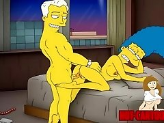 Toon Porn Simpsons Porn mummy Marge have