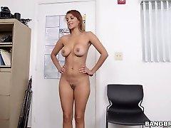 Latina Cougar First Porn Shoot