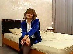 Moms Casting - Luda (51 years older)