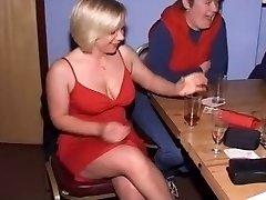 British Dolls at CFNM Stripper Party-Part1