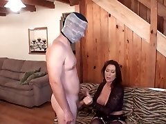 Mommy penalizes son for masturbation