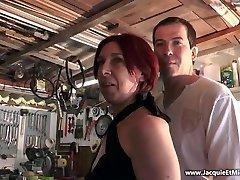 Three jizz-shotgun for redhead cockslut