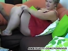 Lush first-timer Milf homemade hardcore action