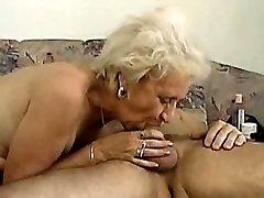 Grandmother can gargle