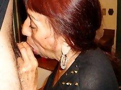 LatinaGranny grandma blow-job compilation