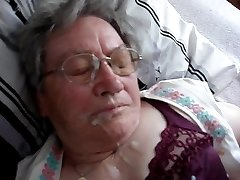 German Grandmother Cumshot 1