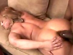 Chubby mature Wife gets her first-ever big black cock in her tight asshole...F70