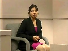 The trial of Mika Tan - Jokey assfuck dildo