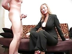Brutish Female Dom Ball Busting 08 - Scene 4