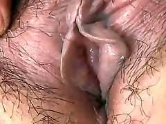 Asian Granny shows Tits and Fuckbox
