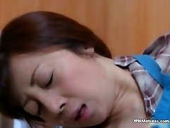 awesome Asian mature fucked by hubby