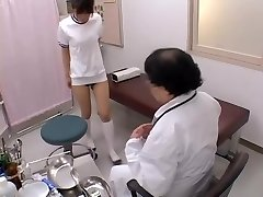 Asian broad with sexy boobies gets her booty-crack fingered in sex film