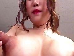 big big tits good-sized nipples
