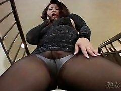 Yuuka Fujisaki Stocking Upskirt