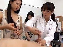 Epic Japanese tart Airi Hayasaka, Kyouko Maki, Sayo Nakamoto in Horny POV JAV scene