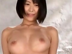 Exotic Japanese super-bitch Nao Mizuki, Wakana Kinoshita, Rio Hamasaki in Incredible Striptease, Softcore JAV clamp