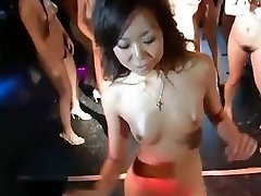 daiya & japan gogo women super gang striptease dance fun