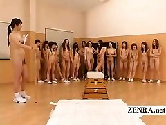 Naturist Japan futanari dickgirls and milf gym educator