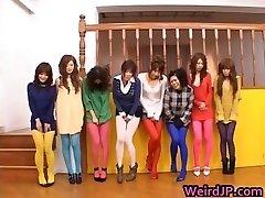 Asian dolls peeing