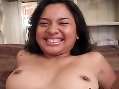 Ugly amateur asian chick banged rock-hard