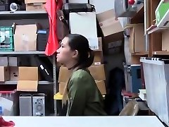Shoplyfter - Hot Asian Teen Punished and Screwed For Stealing