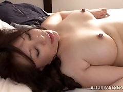 Super-fucking-hot mature Asian babe Wako Anto luvs position 69