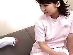 Internal Ejaculation for a Bashful Nurse Japanese. RM