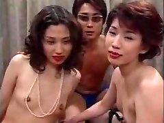Asian MILF Orgy