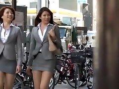Nasty Japanese model Azusa Maki, Kaede Imamura, Makina Kataoka in Hottest Compilation, Voyeur JAV movie