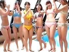Japanese - teenies pool party