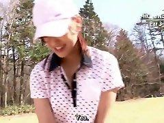 Japanese golf uncensored dt challenge