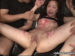 Ai Mizushima Gets Toyed And Fisted So Damn Firm - AsiansBondage