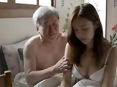 Korean Father-in-Law Plumb His Son-in-law's Wife