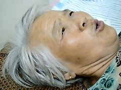 Chinese Grandma With Painful Orgasm