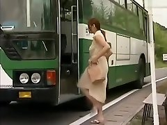 Tsukamoto in commuter bus molester