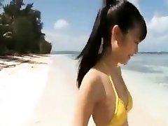 18yo Jav Idol Super-cute Beach Taunt - FreeFetishTVcom