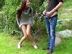 Asian Honey Fuck And Piss Outdoor
