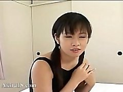 18yo Asian Tokyo babysitter banged