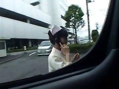 Supah sexy Japanese nurses fellating