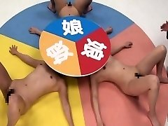 Subtitled CFNF super-naughty Japanese lesbian roulette game