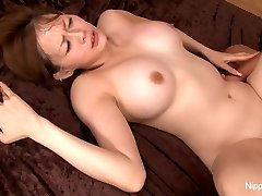 Chinese hotty teases the camera before getting fucked